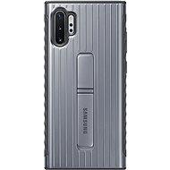 Samsung Protective Back Case mit Ständer für Galaxy Note10+ Silber - Handyhülle