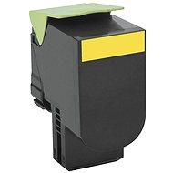LEXMARK 80C20Y0 Yellow - Toner