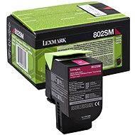 LEXMARK 80C2SM0 Magenta - Toner