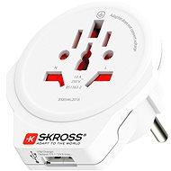 SKROSS WORLD TO EUROPE USB PA30USB - Reiseadapter