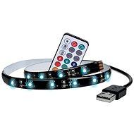 Dekorativer LED-Streifen Solight LED RGB-Streifen für TV - 2 x 50 cm - USB - Schalter - Fernbedienung