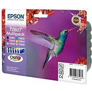 Epson T0807 Multipack - Cartridge-Set