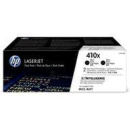 HP CF410XD Nr. 410X 2er Pack Schwarz - Toner