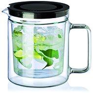 SIMAX TWIN Doppelwandige Teekanne 1,1-Liter mit Edelstahlfilter - Teekanne