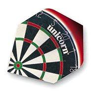 Unicorn Core.100 Plus - Dartboard II - Schwungfeder