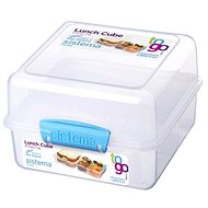 SISTEMA Lunch Cube To Go Blue Online Range 1,4 Liter Lunchbox - Snack-Box