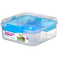 SISTEMA 1,25 Liter Bento Cube To Go Blue Online Range Snackbox - Snack-Box
