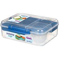 SISTEMA Bento Lunchbox Lunch To Go Blue Online Range 1,65 Liter - Snack-Box