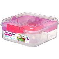 SISTEMA Bento Cube To Go Pink Online Range 1,25 Liter Lunchbox - Snack-Box