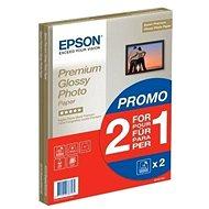 Epson Premium Glossy Photo A4 15 Blatt + zweite Packung Papiere gratis - Fotopapier