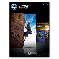 HP Advanced Fotoglanzpapier 10x15cm - Fotopapier