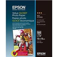 EPSON Value Glossy Photo Paper 10x15cm 100 Blatt - Fotopapier