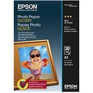 Epson Photo Paper Glossy A3 20 Blätter - Fotopapier