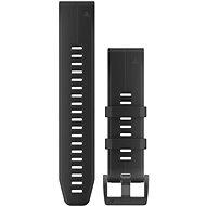 Garmin QuickFit 22 Silikon Schwarz - Armband