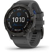 fenix 6 Pro Solar, Black, Slate Gray Band - Smartwatch