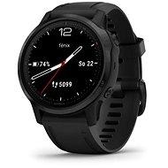 Garmin Fenix 6S Glass Schwarz/Schwarzes Band - Smartwatch