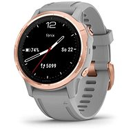 Garmin Fenix 6S Saphire, RoseGold/Gray Band (MAP / Music) - Smartwatch