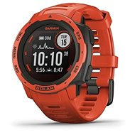 Garmin Instinct Solar, Flame Red - Smartwatch