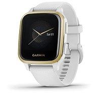 Garmin Venu Sq LightGold/White Band - Smartwatch