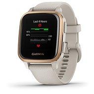 Garmin Venu Sq Musik RoseGold/Sand Band - Smartwatch