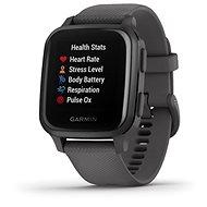 Garmin Venu Sq Slate/Gray Band - Smartwatch