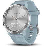 Garmin vivomove HR Sport Silver Seafoam (Größe S/M) - Smartwatch