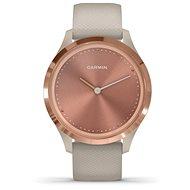 Garmin Vívomove 3S Sport, RoseGold Sandfarben - Smartwatch