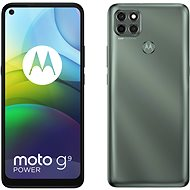 Motorola Moto G9 Power 128 GB - metallic-grün - Handy