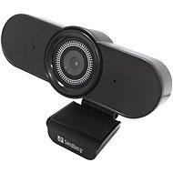 Sandberg USB AutoWide Webcam 1080P HD, schwarz - Webcam