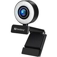 Sandberg Streamer USB Webcam, schwarz - Webcam