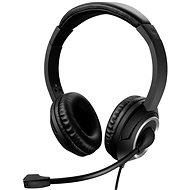Sandberg MiniJack Chat Headset mit Mikrofon, schwarz - Kopfhörer