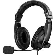 Sandberg SAVER Grosses USB-Headset mit Mikrofon, schwarz - Kopfhörer
