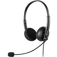 Sandberg PC MiniJack Office Saver Headset - schwarz - Kopfhörer