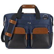 """Solo Sag Harbor Briefcase Blau 15.6"""" - Laptop-Tasche"""
