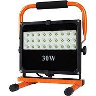 LED-Reflektor LED-Außenreflektor mit Stativ, 30W, 2550lm, 5000K, Kabel mit Stecker, AC 230V - Lampe