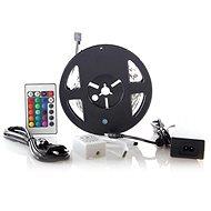 LED-Band, RGB, 3m, Set mit 12V-Adapter und Fernbedienung, 7,2W / m, IP20 - LED-Band