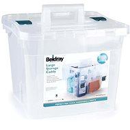 Beldray Aufbewahrungsbox 38 Liter, transparent - Aufbewahrungsbox