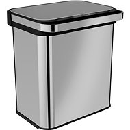 Home berührungsloser Abfallbehälter mit Ozonisator 24L (12+12) - Abfalleimer