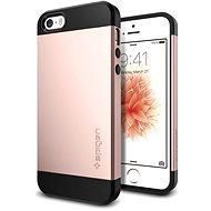 SPIGEN Slim Armor Rose Gold iPhone SE/5s/5 - Schutzhülle