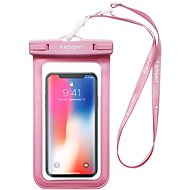 "Spigen Velo A600 8"" Waterproof Phone Case, Pink - Handyhülle"