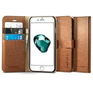 Spigen Geldbörse S braun iPhone 7 Plus / 8 Plus - Handyhülle