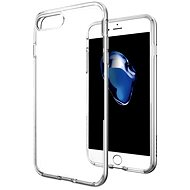 Spigen Neo Hybrid Crystal Satin Silver iPhone 7 Plus - Schutzhülle