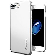 Spigen Thin Fit Satin Silver iPhone 7 Plus /8 Plus - Schutzhülle