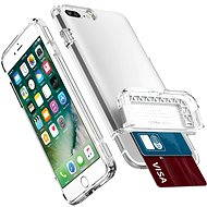 Spigen Flip Armor Satin Silver iPhone 7 Plus - Schutzhülle