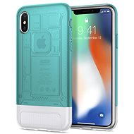 Spigen Classic C1 Bondi Blue iPhone X/XS - Silikon-Schutzhülle