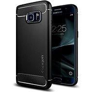 SPIGEN Rugged Armor Black Samsung Galaxy S7 - Handyhülle