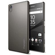 Spigen Thin Fit Gunmetal Sony Xperia Z5 - Schutzhülle