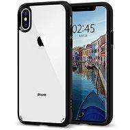Spigen Ultra Hybrid Matte Black iPhone XS/X - Silikon-Schutzhülle