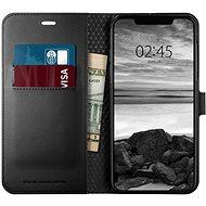 Spigen Wallet S Black iPhone XS Max - Silikon-Schutzhülle