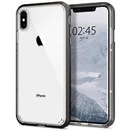 Spigen Neo Hybrid Crystal Gunmetal iPhone XS Max - Silikon-Schutzhülle